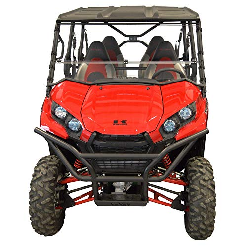 Body Teryx - Kawasaki Teryx Windshield (2016 and newer) Full Folding -SCRATCH RESISTANT- Ultimate versatility! Full, half or off in seconds. Premium poly w/Hard CoatMade in America!!