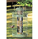 USA Premium Store WILD BIRD SEED FEEDER EASY FILL GREEN COLOR SQUIRREL PROOF METAL BIRDFEEDER