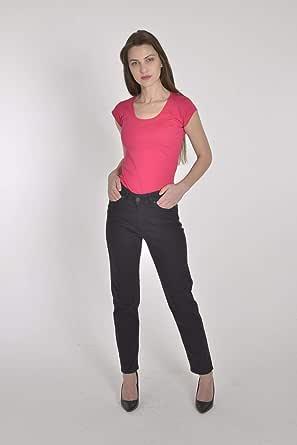 بنطلون أسود جينز نسائي