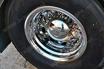 Scania Volvo DAF Mercedes Camión Iveco Llantas Tuerca de mangas, cubiertas y cono x 2: Amazon.es: Coche y moto