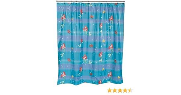 Curtains Ideas ariel shower curtain : Amazon.com: Ariel Vinyl Shower Curtain: Home & Kitchen