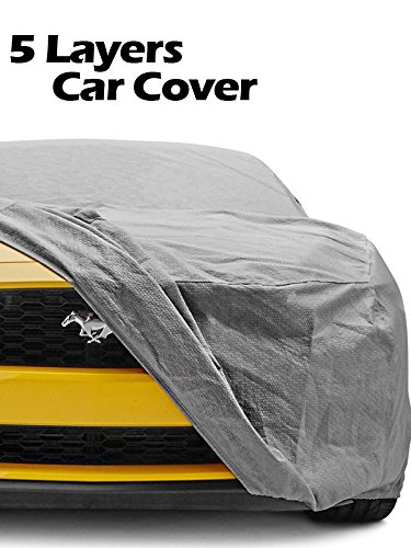 Car Cover fit Audi TT / BMW 128i 135i / Chevy Cruze / Dodge Viper / Fiesta Focus / Honda Civic Insight / Genesis / Kia Forte / Versa / Porsche 911 Boxster Cayman / Kizashi / Yaris / Volvo S40 MCC-003 by MPH Production