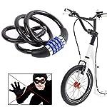 BESLIME-Lucchetto-per-Bici-Blocco-della-BiciLucchetti-Bicicletta-Cavo-di-SicurezzaIntelligente-codice-antifurto-Serratura-Biciclette