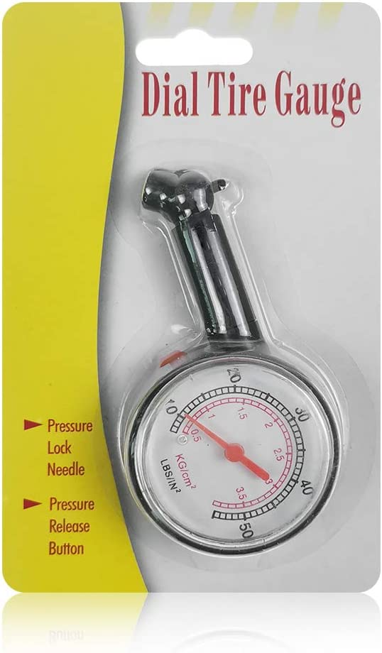BARTUN Car Tire Pressure Gauge 60 PSI