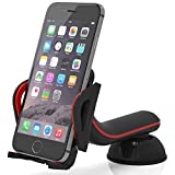 Bestrix Premium Universal Dashboard & windshield Car Phone Mount Holder for iPhone 6/6S/Plus 5S/5C/5 Samsung Galaxy S5/S6/S7 Edge/Plus Note 4/5 LG G3/G4/G5 all smartphones up to 6
