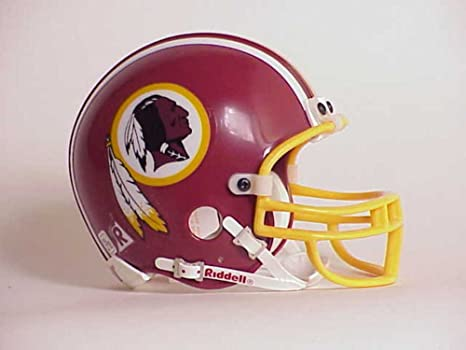 Amazon.com   NFL Washington Redskins Replica Mini Football Helmet ... 4935bd54a