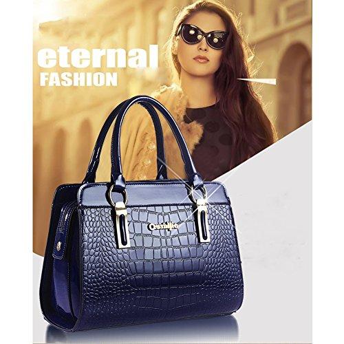 Bag con borsa Borsa Shoulder Bag Handbag Donna Spalla in AVERIL pelle Mutil mano tasche Tote rosso G Borse a a PU waFTfF