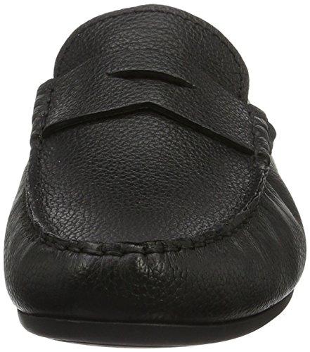Clarks Drive Uomo Leather Nero Reazor Mocassini Black ggqrAOU8