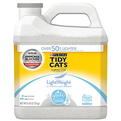 Purina Tidy Cats LightWeight Glade Tough Odor Solutions Clea
