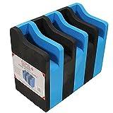 MyEasyShopping 5 Pistol Soft Cradle - Black/Blue, 5 Pistol Soft Cradle, Black/Blue, One Size, 5 Pistol Soft Cradle Black Blue Outdoors Holder Foam One Size