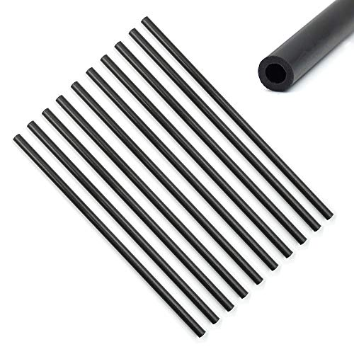 - 10 Pcs Carbon Fiber Tube (Hollow) 3mm x 5mm x 150mm Round for Quadcopter Multicoptor Frame Body Landing Gear