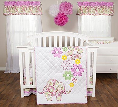 Trend Lab Bedding Elephant Flowers