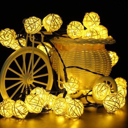 Dreamers Solar String Lights, 30LED 20ft Solar Powered Starry - Import It All