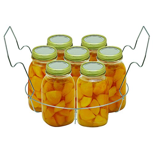 Stainless Steel Canning Rack, with Jar Dividers, by VICTORIO VKP1057 by Victorio (Image #3)