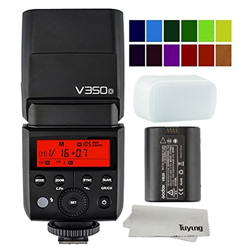Godox V350O 2.4G Wireless Mini TTL Speedlite Flash for Olympus E-M10II E-M5II E-M1 and Panasonic DMC-GX85 DMC-G7 DMC-GF1