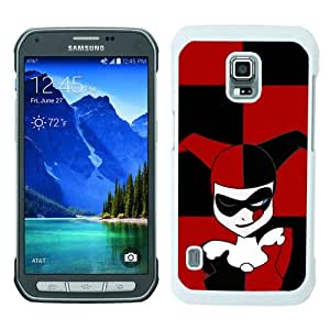 Beautiful Samsung Galaxy S5 Active Cover Case ,Newest And Durable Designed Case With Harley Quinn White Samsung Galaxy S5 Active Case Unique And Cool Phone Case