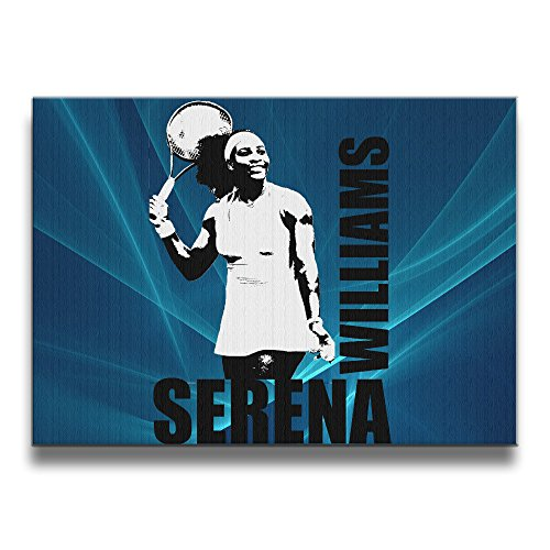 Custom Serena Williams 16*20 Inch Solid Wood Designs Borderless Frame Photo