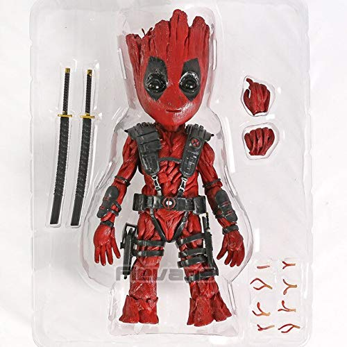 VIET FG Tree Man X Deadpool Captain America Winter Soldier Thor Wolverine Collection PVC Action Figure Model Toy -Complete Series Merchandise