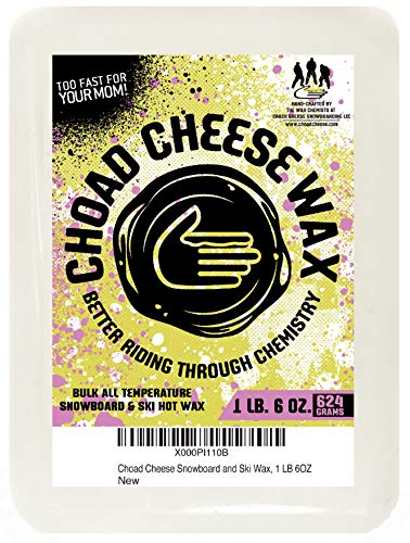 Choad Cheese Snowboard and Ski All Temp Hot Wax- 1 LB 6 OZ