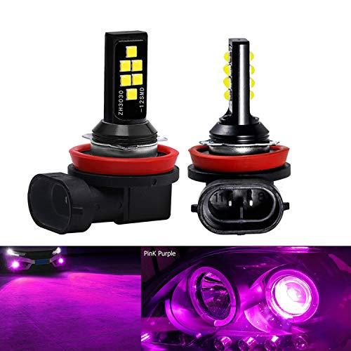 Pink Fog Lights - SOCAL-LED LIGHTING 2x H11 H8 LED