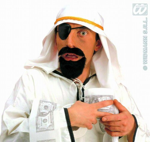 Sheik Fancy Dress (Adult's Sheik Fancy Dress Set)