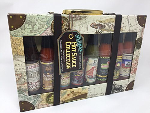 Tower Island Light - Dat'l Do It Global Collection Hot Sauce Gift Set (8-Bottle Variety Pack)