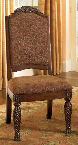 Set of 2 Dining Upholstered Side Chair by Ashley Furniture (Cushion Furniture Replacement Ashley Covers)