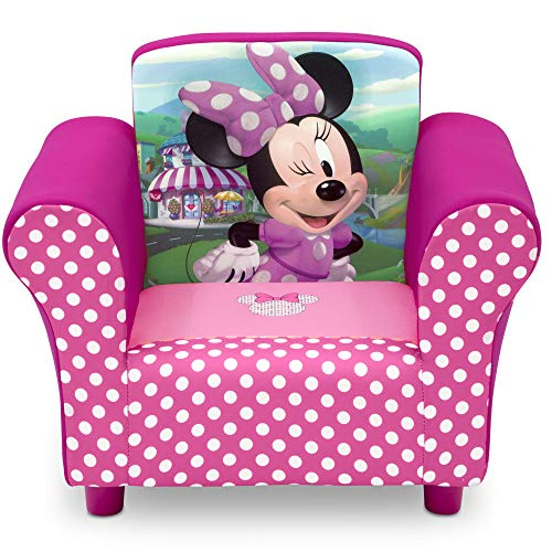 Delta Children Disney Minnie Mouse Upholstered Chair (Mini Mouse Bed Set)