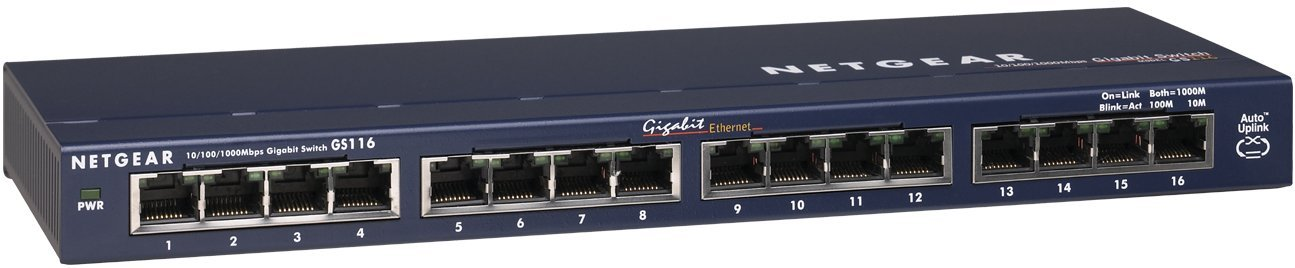 NETGEAR 16-Port Gigabit Ethernet Unmanaged Switch