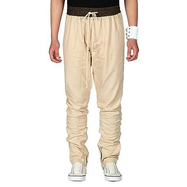 Pantalones De Algodón Casuales para Hombre Pantalones Pantalones ...
