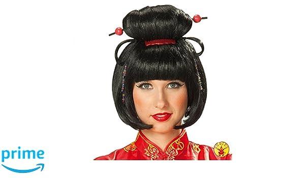 Rubies 5 4207 - Peluca geisha para niña: Amazon.es: Juguetes y juegos