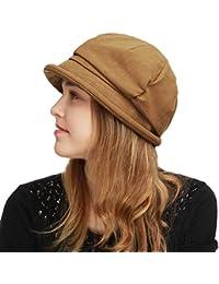 1ee53149ccd Womens Bucket Newsboy Cabbie Beret Cap Cloche Bucket Fashion Sun Hats