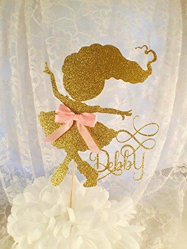 Dancing Girl Cake Topper - Custom Made