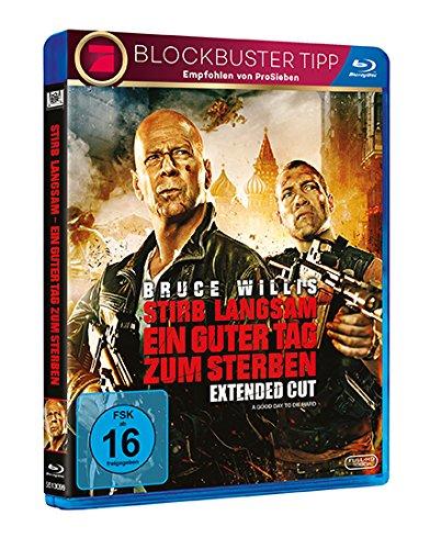 Stirb Langsam: Ein guter Tag zum Sterben (Steelbook) - Ultra HD Blu-ray [4k + Blu-ray Disc]