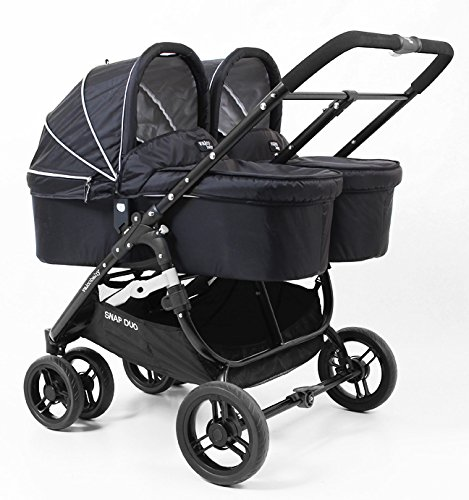 Amazon.com : Valco Baby Snap Duo Black Bassinet to work with ...