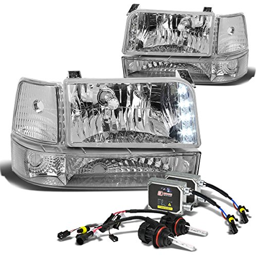 1996 f250 headlight assembly hid - 6