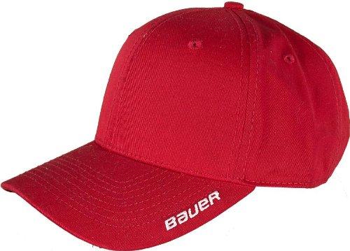 para béisbol Talla única Rojo Hombre Bauer Rosso Gorra de FxqPZt