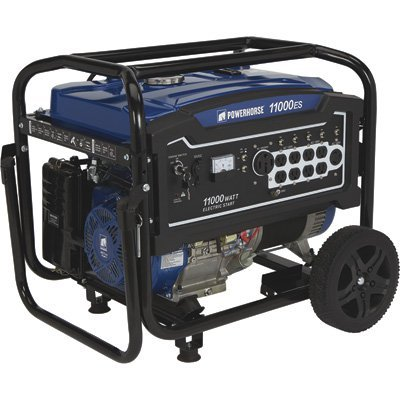 Contractor Generator - Powerhorse Portable Generator 11,000 Surge Watts, 8400 Rated Watts, Electric Start, EPA Compliant