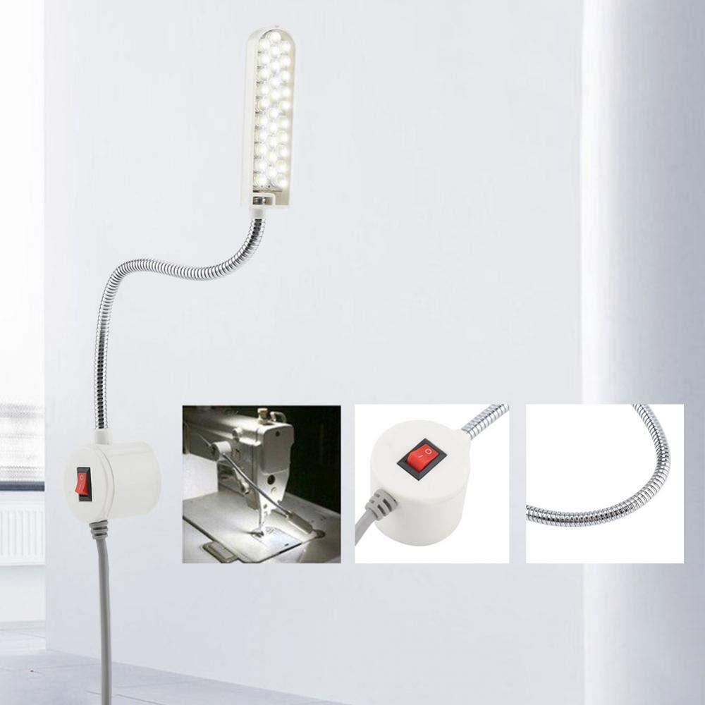 Medium Fdit 30/ledes M/áquina de Coser Cisne Funci/ón de Luz L/ámpara con Soporte magn/ético para casa o M/áquina de Coser