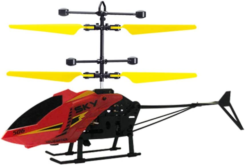 Remote Control Helicopter with Light USB Charging Low Noise for 3-8Y Kids Boys Toys Mini Helicopter Remote Control for Kids /& Adult Indoor Syfinee RC Helicopter
