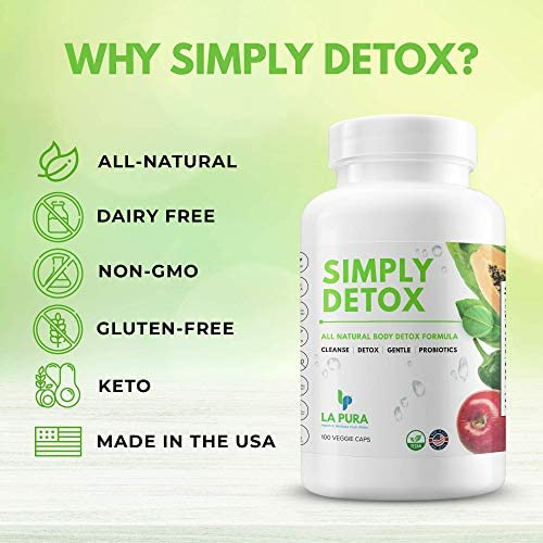 Super Detox & Colon Cleanse for Weight Loss & Gut Support, Natural Cleanser for Women to Lose Belly Fat Fast – Constipation & Bloating Relief, Flatter Stomach + Detoxification, 100 Debloat Pills 4