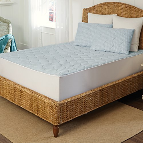 Rio Home Fashions MP-083-6Q Pad Gel Mattresses-Keeps Memory Foam Cool with Temperature regulating Technology