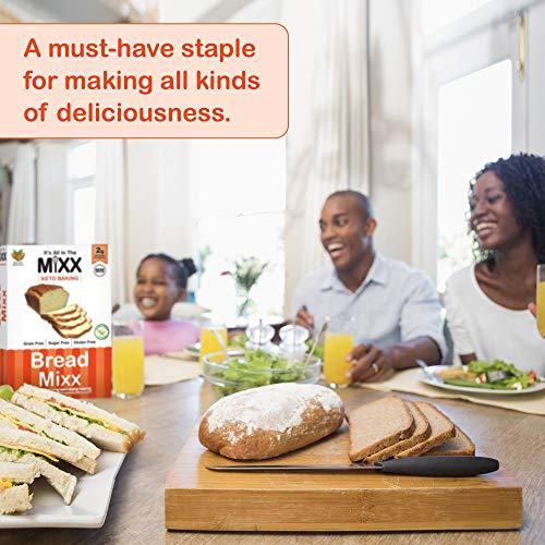 Bread Mixx, Low Carb Keto Bread Mix with Almond Flour, Keto Friendly Mix for Low-Carb Bread, 255 g - It's All In The Mixx 6