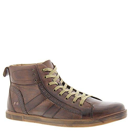 Säng Stu Brent Mens Läder Kängor Mode Sneakers Mocka