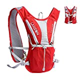 Cheap LANZON Hydration Pack (NO Bladder), Marathon Running Vest, Hiking Cycling Backpack – #2 Red