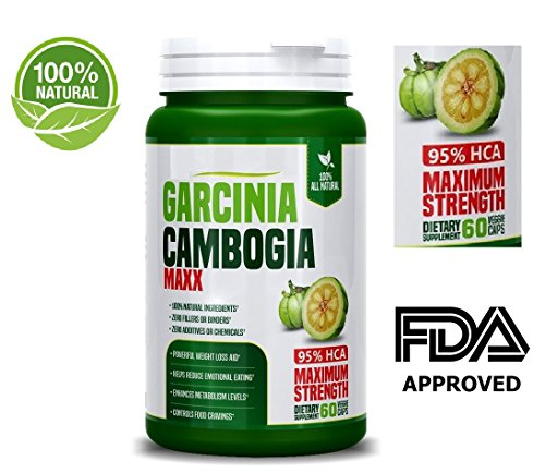 Pure 3000mg Garcinia Cambogia Capsules- All Natural Weight Loss Supplements – 95% HCA – 100% Natural Weight Loss Pills – Natural Appetite Suppressant & Fat Burner – 60 Capsules For Sale