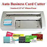 Amazon cardmate manual business card cutter stack paper brand new automatic business card slitter 89x51mm card diy 110v with 2000 business card templates send colourmoves Gallery
