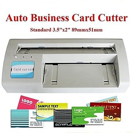 Amazon brand new automatic business card slitter 89x51mm card brand new automatic business card slitter 89x51mm card diy 110v with 2000 business card templates send colourmoves