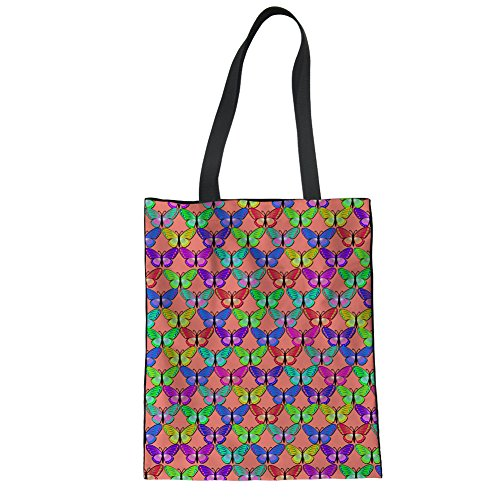Showudesigns CC1183Z22, Borsa a mano donna Multicoloured Taglia unica butterfly 3
