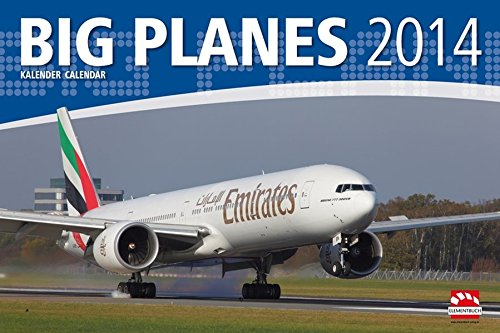 Big Planes und Airliners Kalender 2014